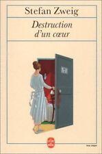 Destruction D'Un Coeur (Le Livre de Poche) (French Edition)
