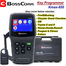 BOSSCOMM Kmax850 KEY fob PROGRAMMER by OBD for Ford Toyota GM Honda Nissan ect