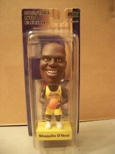 Shaquille O'Neal NBA Upper Deck Play Makers L.A. Lakers 2002/2003 Bobble Head