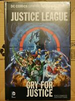 Justice League Cry for Justice (Eaglemoss Vol. 56, DC Comics) Hardcover