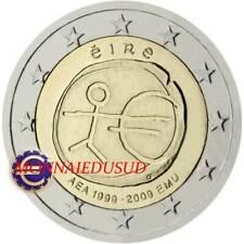 2 Euro Commémorative Irlande 2009 - 10 Ans de l'Euro EMU