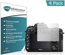 "4 x Slabo Displayschutzfolie Nikon D7500 Schutzfolie Folie ""Crystal Clear"""