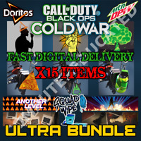 Call of Duty Black Ops Cold War WXP ROCKSTAR DEW DORITOS CHARM ULTRA MEGA BUNDLE