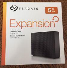 "Seagate Desktop Expansion External Hard Drive Case Enclosure 3.5"" 5TB, NO HDD"