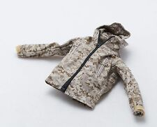 1/6 Very Cool Digital Female Camouflage Soldier Max AOR1 PCU Jacket w Patches