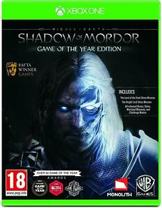 Middle Earth: Shadow of Mordor Game of the Year Edition Xbox One New Sealed