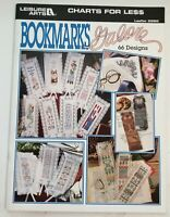 Bookmarks Galore 66 Cross Stitch Designs Patterns Booklet Leisure Arts