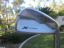 """New listing Callaway X Forged 2018 Irons 4-PW DG-105 """"S"""" Golf Pride """"Z"""" Grips"""