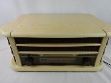 Dual 75220 NR 4 Nostalgiekompaktanlage Hellbraun W19-HG9981