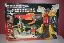 1985 G1 Transformers Original Omega Supreme Autobot Defense Base BOX Nr-Complete