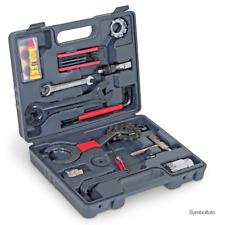 WALTER Fahrradwerkzeugkoffer 18-teilig Speichenschüssel Zahnkranzschlüssel