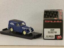 Voitures, camions et fourgons miniatures bleus 1:100