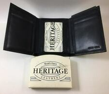 NOS - Heritage Leather Trifold Wallet - Cow Hide - Enger Kress Co. Wisconsin