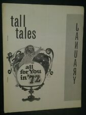 Tall Tales Bulletin for North Carolina Kennel Clubs Pekingese Back Cover Jan 72