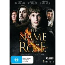 The Name of The Rose 2019 3 Disc Set Region 4 DVD