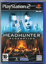 PS2 Headhunter: Redemption (2004) , UK Pal, Brand New & Sony Factory Sealed
