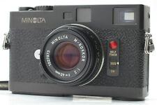 【MINT】  MINOLTA CLE Rangefinder + M Rokkor 40mm f2 Lens from JAPAN #215