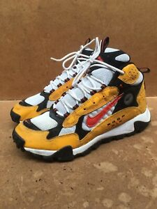 Rare Vintage 1996 Nike Zoom Air Yellow Red Swoosh Size USA 8.5   UK 7.5   EUR 42