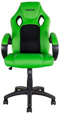 NEW BIKETEK KAWASAKI OFFICE GARAGE MOTOCROSS MX ENDURO RACE TEAM RIDER CHAIR