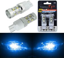 LED Light 50W 7440 Blue 10000K Two Bulbs Rear Turn Signal Replace Upgrade
