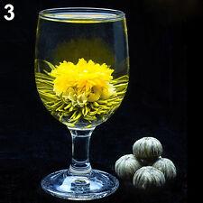 4 Balls Different Handmade Blooming Flower Green Tea Home Wedding Gift Beauty
