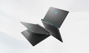 New Win 11 Alienware M15 R5 Gaming Laptop AMD Ryzen R7 5800H 16GB 512GB SSD 3060