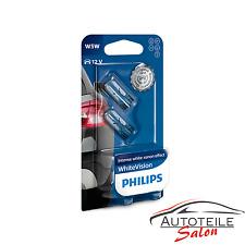 Philips W5W WhiteVision Signal und Innenbeleuchtung 12961NBVB2 Standlicht Parkli