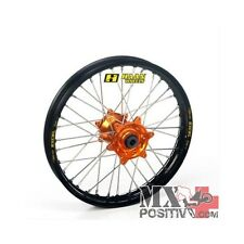 RUOTA COMPLETA KTM SX 125 2013-2013 HAAN WHEELS 2,15 - 19'' mozzo arancione/cerc