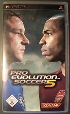 Pro Evolution Soccer 5 für PSP wie neu