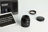Voigtlander ULTRON ASPH 35mm f1.7 Leica L39 Mount in Excellent condition
