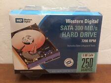 WESTERN DIGITAL CAVIAR 250GB SATA 300 MB/s 7200 RPM WD2500KS-00MJB0 HARD DRIVE