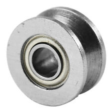 2 by V Groove Ball Bearing, Pulley For Rail Track Linear Motion, tension er
