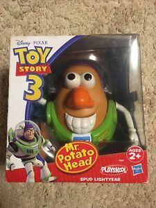Vintage Disney Pixar Toy Story 4 Mr Potato Head as Spud Lightyear 2010