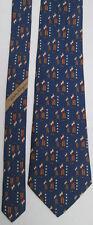 -AUTHENTIQUE cravate cravatte neuve Salvatore FERRAGAMO  100% soie    vintage