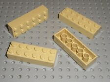 4 x Brique beige LEGO tan brick 2x6 ref 2456 / Set 7194 75140 10181 4867 10215..