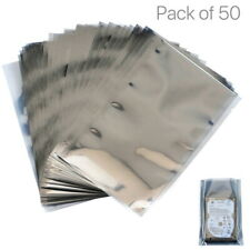 50Pcs Anti-Static Shielding Bag Electronic Device Shield Mylar Storage Heat Seal