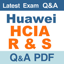 Huawei HCIA R&S Real Exam Questions & Answers - PDF