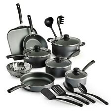 Nonstick Pots And Pans Lids Cookware Set Cooking Kitchen Multiple Sets Colors