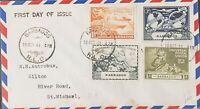 UPU 1949 75th Anniversary  FDC Barbados