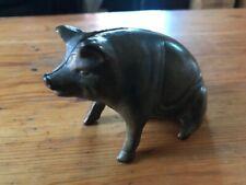 Cast Iron Pig Bank