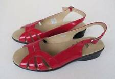 Flat (0 to 1/2 in.) Patent Leather Solid Sandals & Flip Flops for Women