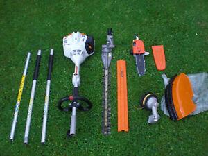Stihl KM56 R Combi Hedge Cutter Trimmer New Strimmer Pruner Chainsaw Kombi km130