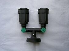 Vinas PAR 38 Twin Wall Spot Garden Light's - Adjustable Heads - 240V IP54 100W