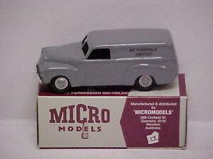 """MODIFIED MICRO MODELS  PLASTIC FJ HOLDEN HEARSE """"MC FUNERALS"""" WITH COFFIN"""