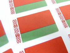Mini Sticker Pack, Self-Adhesive Belarus Flag Labels, FR74