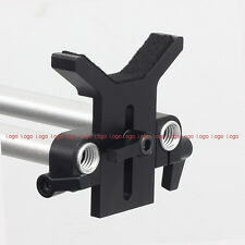 Lens Support f 15mm Rod Rail Support DSLR Rig Follow Focus Camera Cage Video Rig