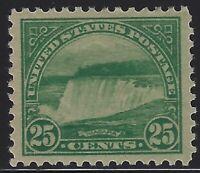 US Stamps - Scott # 568 - Mint OG Hinged - XF Jumbo                      (A-200)