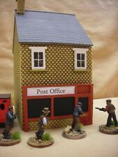 28MM PMC GAMES BT16 (PAINTED) TWO STOREY SHOP SLATE ROOF