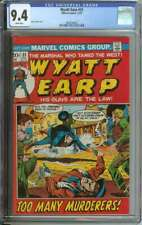 WYATT EARP #31 CGC 9.4 WHITE PAGES // TRAILS A SINGLE 9.6 ON THE CGC CENSUS 1972