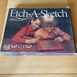 Vintage Etch A Sketch With Original Box and instructions